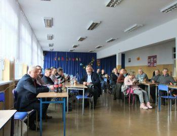 Walne zgromadzenie sprawozdawcze  Koła PZW Nr 88 Wyszków  18.02.2018r.